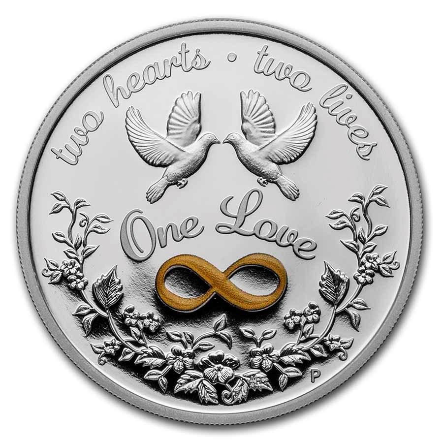2021 Australia 1 oz Silver One Love Proof