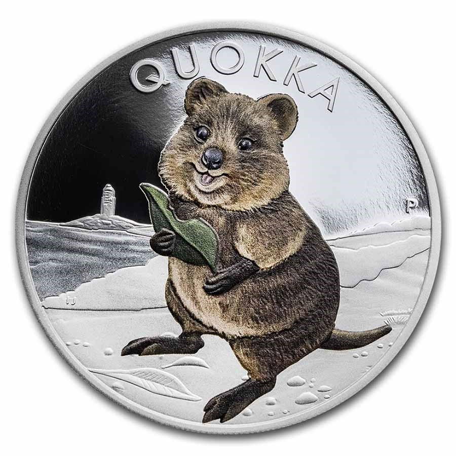 2021 Australia 1 oz Silver Quokka Proof