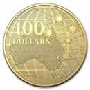 2021 Australia $100 1 oz Gold Beneath the Southern Sky BU