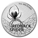2021 Australia 5 oz Silver Redback Spider BU