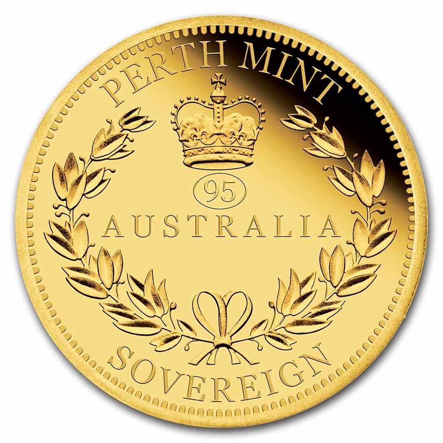 2021 Australia Gold Sovereign Proof