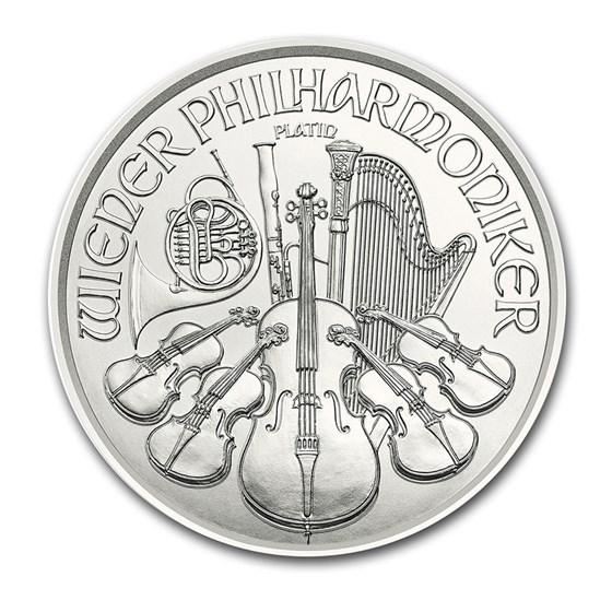 2021 Austria 1/25 oz Platinum Philharmonic BU