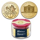 2021 Austria 1 oz Gold Philharmonic (10-Coin MintDirect® Tube)