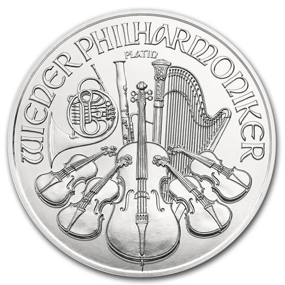 2021 Austria 1 oz Platinum Philharmonic BU