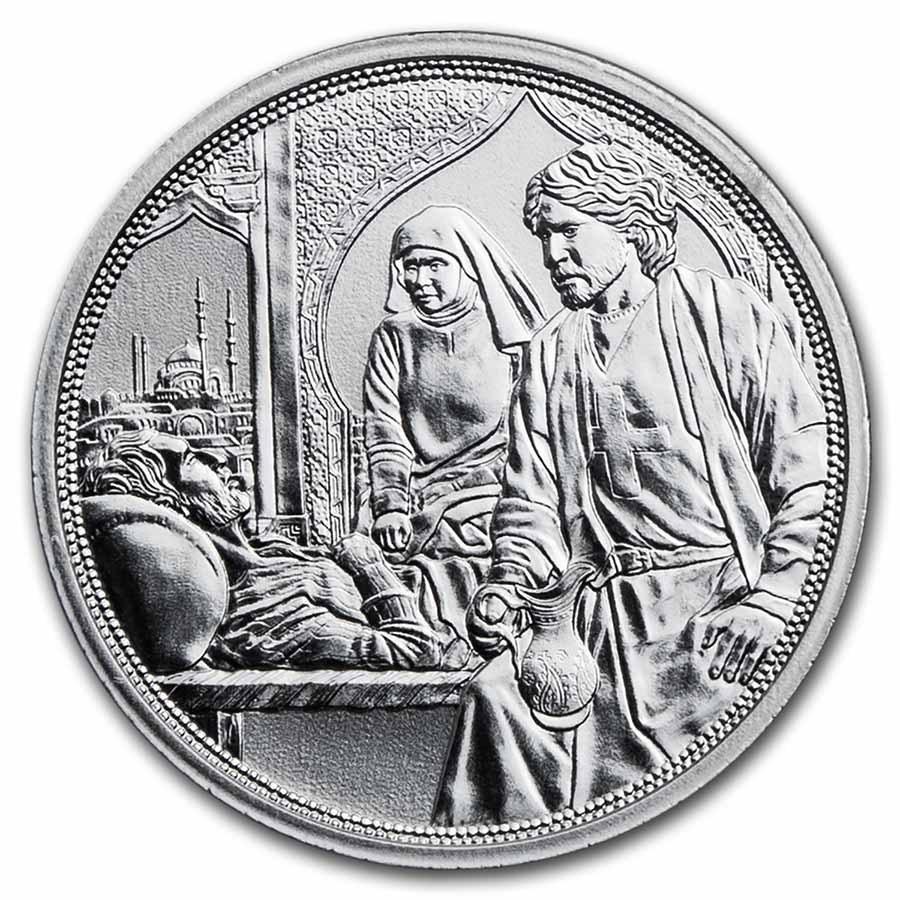 2021 Austria Silver €10 Knights' Tales (Brotherhood)