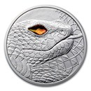 2021 Austria Silver €20 Eyes of the World Australia Serpent