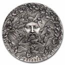 2021 Cameroon 5 oz Silver 700th Anniv. The Divine Comedy:Paradiso