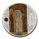 2021 Cameroon Silver Gustav Klimt; Beethoven Frieze