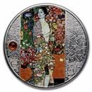 2021 Cameroon Silver Gustav Klimt; The Dancer