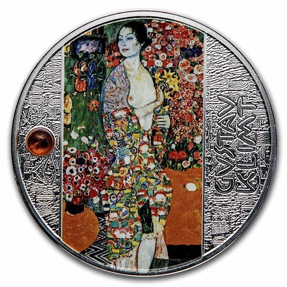 2021 Cameroon Silver Gustav Klimt: The Dancer
