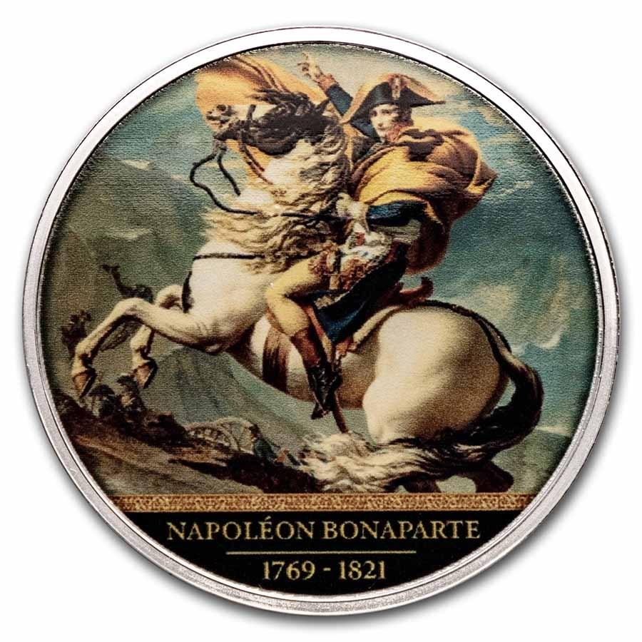 2021 Cameroon Silver Napoléon Bonaparte