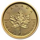 2021 Canada 1/20 oz Gold Maple Leaf BU