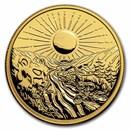 2021 Canada 1 oz Gold $200 125th Anniv of the Klondike Gold Rush
