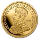 2021 Canada 1 oz Gold Canada's Rarest Coins 1936 Dot 10 Cents