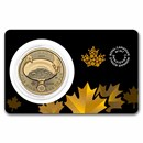2021 Canada 1 oz Gold Klondike Gold Rush .99999 BU (Assay Card)