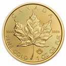 2021 Canada 1 oz Gold Maple Leaf BU