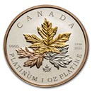 2021 Canada 1 oz Platinum $300 A Tribute to the Maple Tree