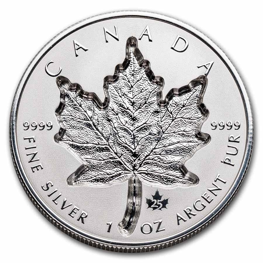 2021 Canada 1 oz Silver $20 Super Incuse Maple Reverse Proof