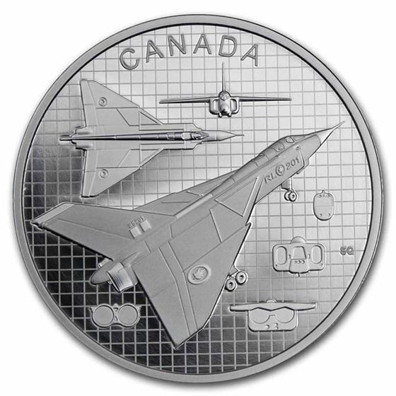2021 Canada 1 oz Silver $20 The Avro Arrow