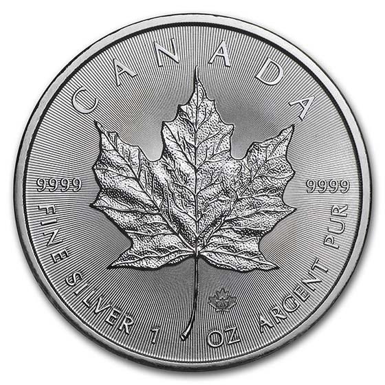 2021 Canada 1 oz Silver Maple Leaf BU