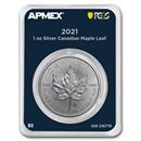 2021 Canada 1 oz Silver Maple Leaf (MD® Premier Single + PCGS FS)