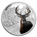 2021 Canada 2 oz Silver $30 Imposing Icons White-tailed Deer