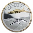 2021 Canada 5 oz Silver $50 The Avro Arrow