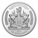 2021 Canada Silver $20 Black History: The Black Loyalists