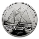 2021 Canada Silver Dollar 100th Anniversary of Bluenose Proof