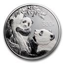 2021 China 1 kilo Silver Panda Proof (w/Box & COA)