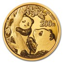 2021 China 15 gram Gold Panda BU (Sealed)