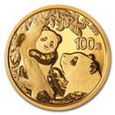 2021 China 8 gram Gold Panda BU (Sealed)