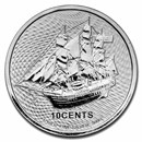 2021 Cook Islands 1/10 oz Silver Bounty Coin