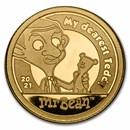 2021 Cook Islands 1/2 gram Gold Mr. Bean: My Dearest Teddy