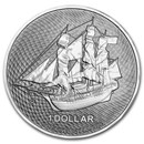2021 Cook Islands 1 oz Silver Bounty Coin