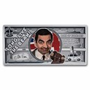 2021 Cook Islands 5 gram Silver Note Mr. Bean