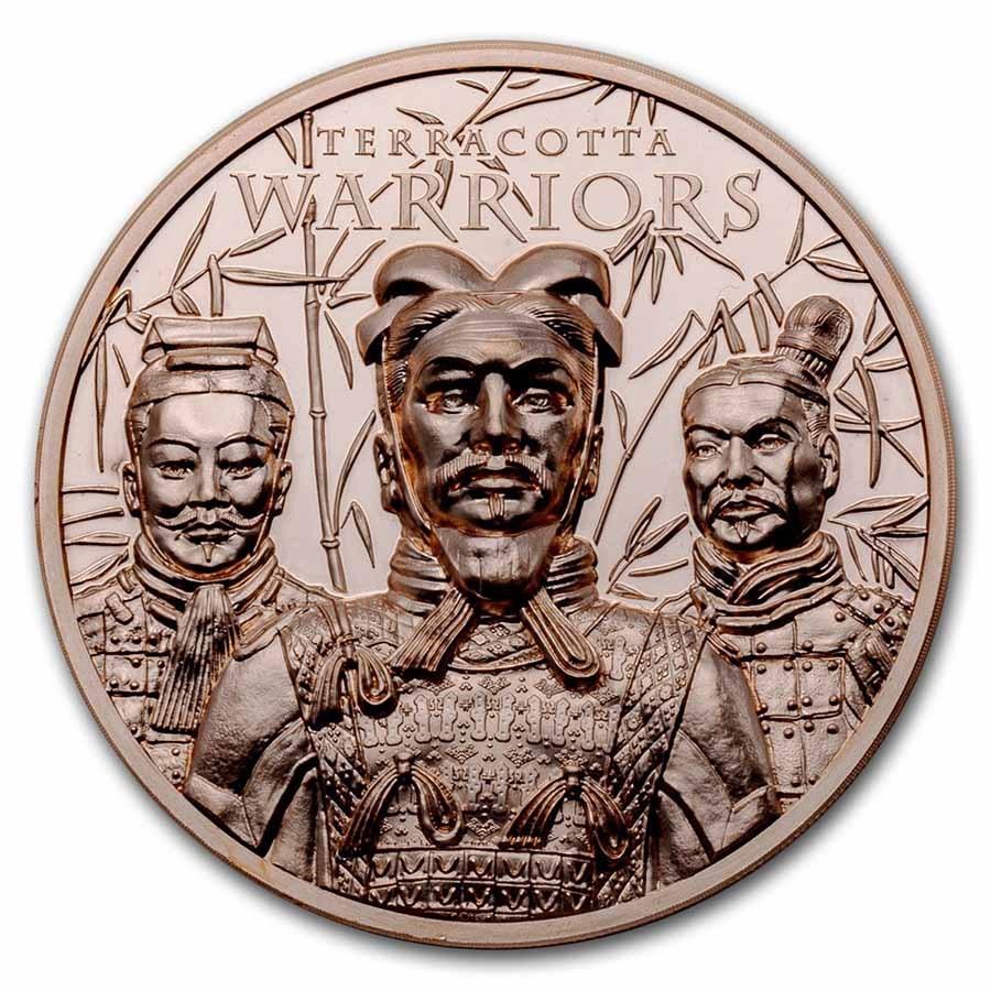 2021 Cook Islands 50 gram Copper Terracotta Warriors
