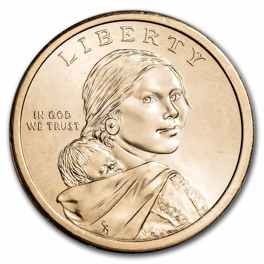 2021-D Native Amer $1 - Eagle Feathers BU