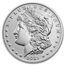 2021-D Silver Morgan Dollar (Box & COA)