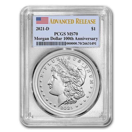 2021-D Silver Morgan Dollar MS-69 PCGS (FirstStrike®)