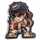2021 Fiji 1 oz Silver $1 Street Fighter Mini Fighters: Ryu