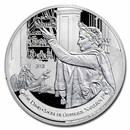 2021 France 5 oz Ag The Louvre (The Coronation by David)