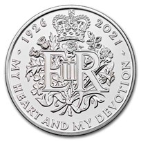 2021 GB £5 95th Birthday of the Queen Brilliant Uncirculated