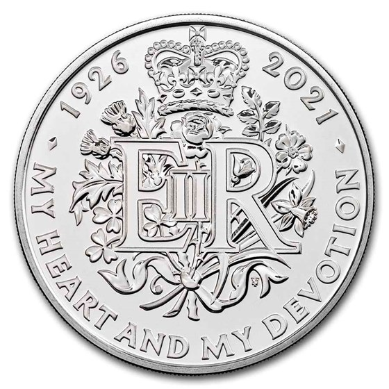 2021 GB £5 95th Birthday of the Queen BU