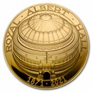 2021 GB £5 Gold Proof 150th Anniversary of The Royal Albert Hall