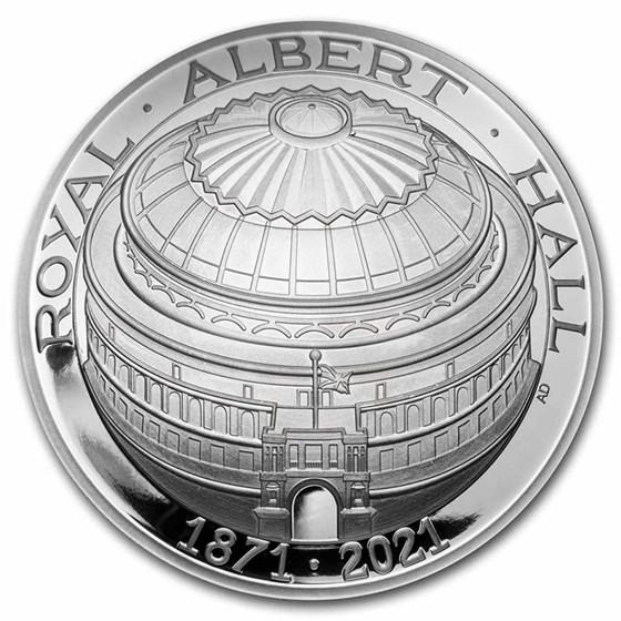 2021 GB £5 Silver Prf 150th Anniversary of The Royal Albert Hall