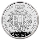 2021 GB £5 Silver Proof 95th Birthday of the Queen