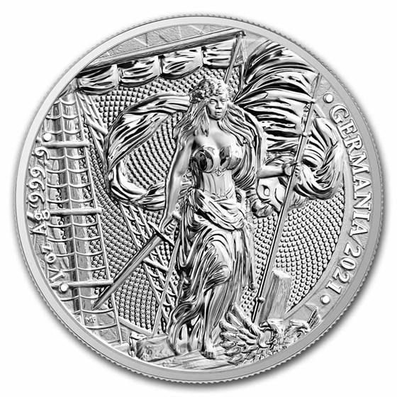 2021 Germania 1 oz Silver Round BU
