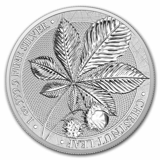 2021 Germania Chestnut 1 oz Silver Round BU