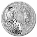 2021 Germania Interkosmos 1 oz Silver BU (Gagarin)